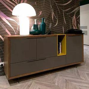 Desi Evo, Buffet au design minimaliste