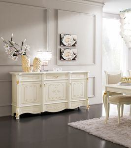Diamante Art. 2606, Buffet d�cor� � la main