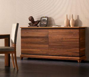 Elettra Art. EL102, Buffet en bois avec 2 portes et 2 tiroirs