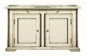 Juliane BR.0001.L, Buffet brocantage avec 2 portes, style classique