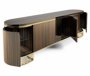 King, Buffet aux formes arrondies