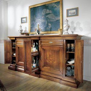 La Casa dello Stile LACASA-E511, Buffet classique incrusté