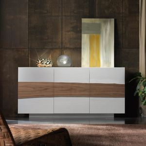 Spazio Contemporaneo SPAZE1057, Buffet avec porte décorative