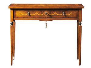 Biagio FA.0043, Bureau de style Maggiolini avec un tiroir