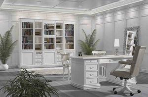 Fenice Bureau, Bureau laqué, pour des bureaux prestigieux