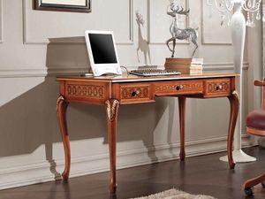 Rubin Bureau, Bureau classique avec des incrustations décoratives
