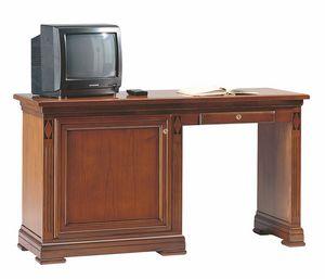 Villa Borghese bureau et minibar, Bureau pour chambres d'hôtel, avec coffre miniature