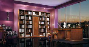 Vivre Lux Bureau, Bureau de direction luxueux, avec des sculptures et des incrustations