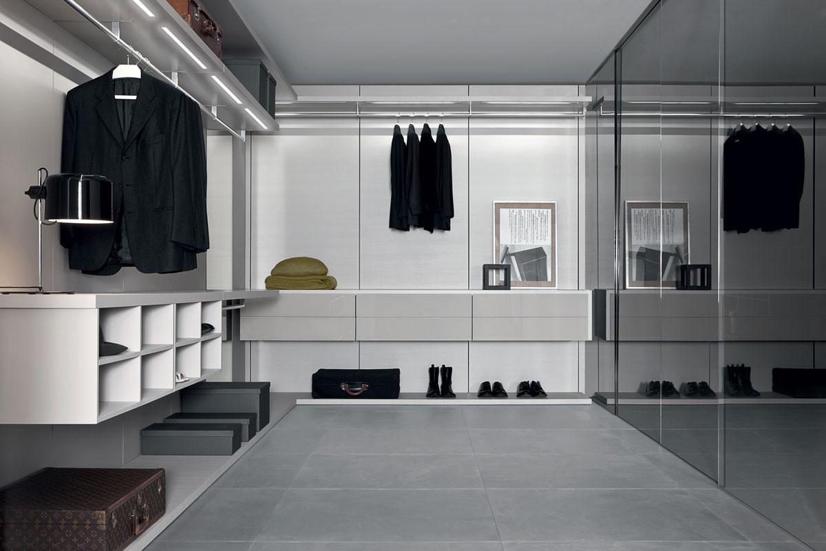 Anteprima closet, Walk-in moderne placards, penderie