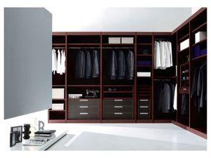 ATLANTE dressing comp.01, Walk-in de haute conception, avec mise en esthétique