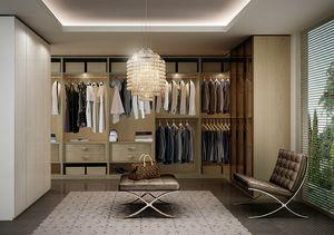 ATLANTE dressing comp.06, Walk-in, optimisation de l'espace, diff�rentes finitions
