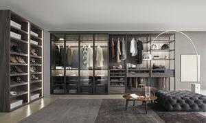 Bellavista, Garde-robe walk-in avec accessoires personnalisables