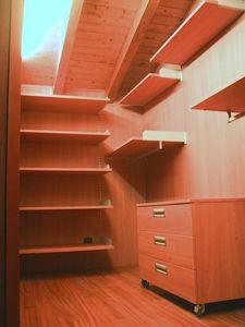 Cabine vestiaire pour le grenier 01, Cabine vestiaire entièrement personnalisable