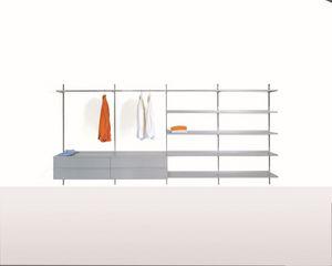 Elle System Wardrobe, Meubles modulaires pour les armoires de rendez-vous, avec des éléments personnalisables