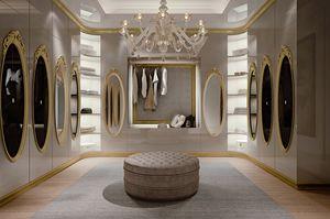 Hotel de Ville Walk-in, Dressing de luxe sur mesure
