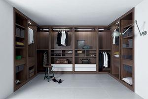 Sipario closet, Système d'armoire modulaire, finitions soignées