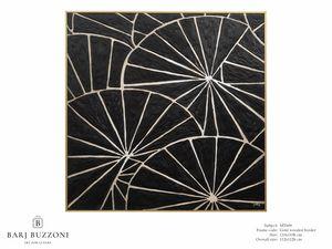 Black parasol – MT 609, Peinture géométrique