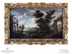 Old architectural remains – SP 401, Peinture à l'huile, style classique