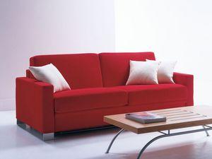 Artemide, Canapé-lit, moderne et simple, pour les vacances