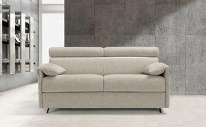 Barolo, Canapé-lit avec appui-tête réglable
