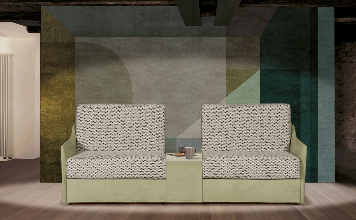 Berlino Gemellare, Canapé transformabile en deux lits simples