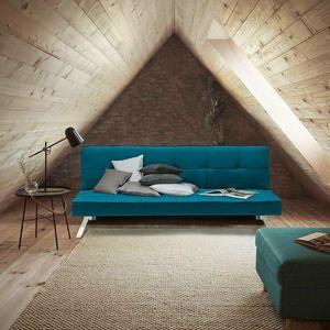 Canapé Clic Clac Convertible en tissu 2 places design moderne GEMMA - DI319MIBL, Canapé-lit d'une grande élégance et confort