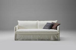 Clarke, Canapé-lit doux et informel