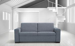 Elio, Canapé moderne avec revêtement amovible