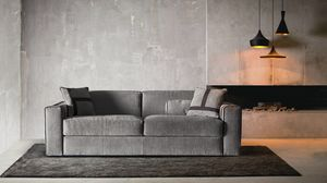 Ellington, Canapé moderne qui se transforme en un lit confortable