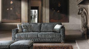 Garrison, Canapé-lit avec revêtement amovible spécial