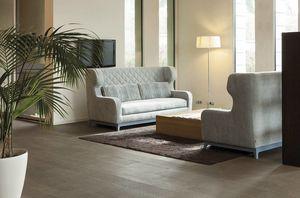 Morgan, Canapé-lit au design Art Déco