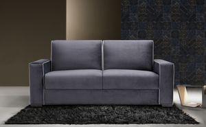 Papete, Canapé-lit aux lignes élégantes et sobres