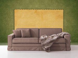 Polifemo, Canapé avec lit caché, ouverture frontale, pour le salon