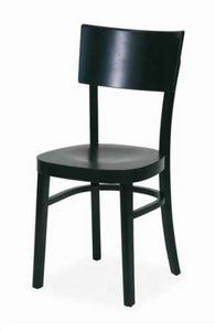 Arezzo, Chaise en bois courbé