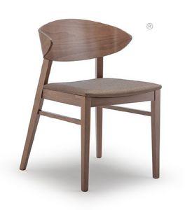 Edith, Chaise en bois de hêtre