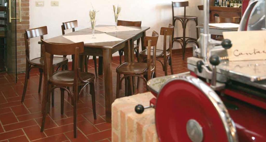 Milano, Chaise en bois courbé