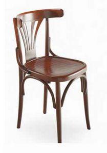 Strauss, Chaise en bois courbé, style viennois