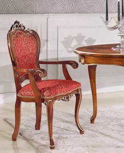 Art. 3030, Chaise de style classique avec accoudoirs