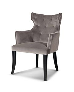 ART. 3291, Chaise rembourrée avec accoudoirs