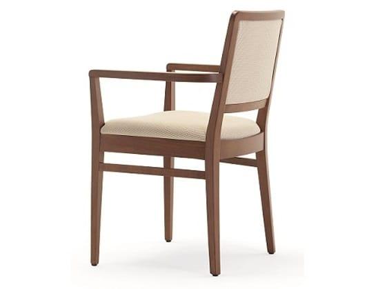 Godiva-P, Chaise avec accoudoirs, pour restaurants et bars