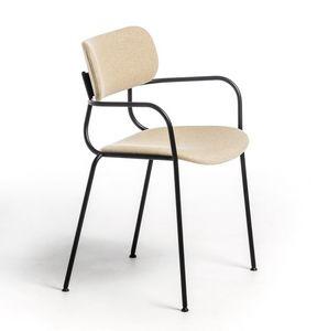 Kiyumi Fabric AR, Chaise polyvalente avec accoudoirs
