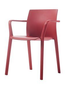 Klia, Chaise empilable en polypropylène renforcé
