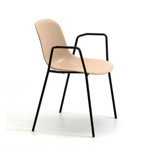 Máni Wood 4L AR, Chaise avec accoudoirs