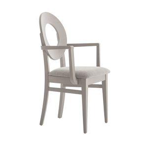MP47UP, Chaise avec dossier rond avec trou central