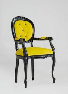 S17P, Chaise classique avec accoudoirs