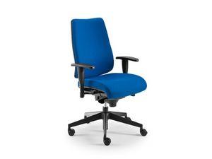 DD 2 task 53732, Chaise de bureau avec siège et dossier rembourrés