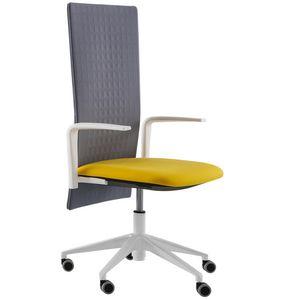 Elodie Executive 05R, Chaise de bureau avec roulettes et dossier insonorisant
