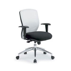 Gummy RE 099052R, Chaise pivotante sur roulettes, pour les bureaux