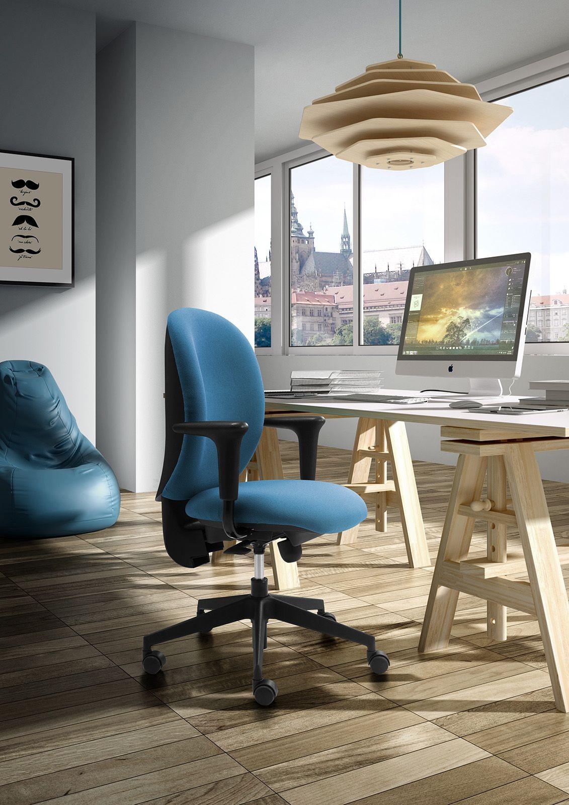 Gummy task 09605, Opérationnelle chaise de bureau, ergonomique et réglable