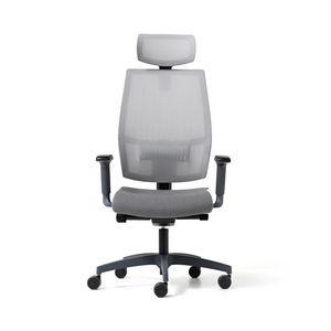 Lead engrener, Chaise de bureau ergonomique avec dossier en résille